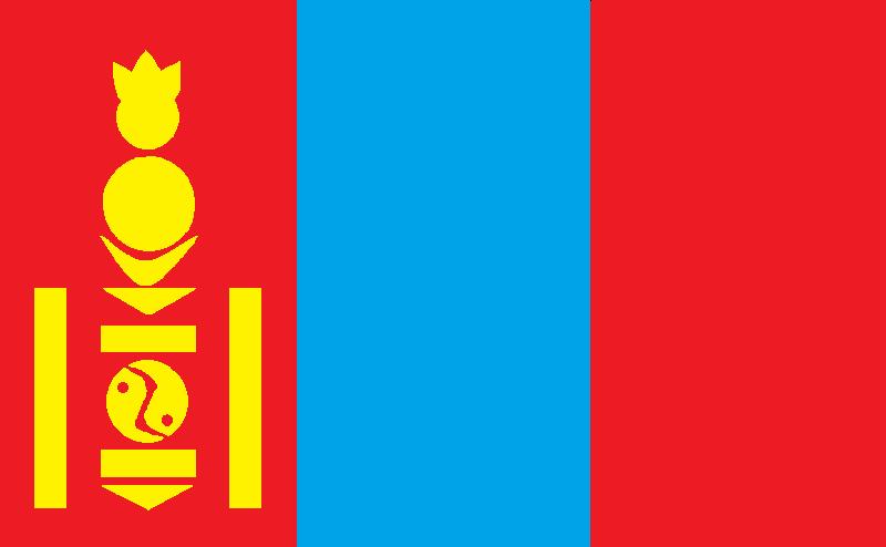 11年7月14日 蒙古国国旗